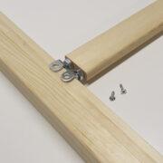 Ruuvivälipuu 50x30mm kiilakehykselle