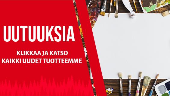 Taidetarvikkeita.fi uutuustuotteet